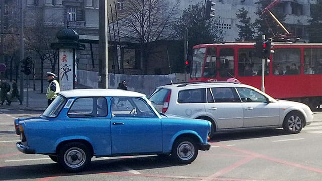 East Germany's Trabant People's Car - a Reprieve