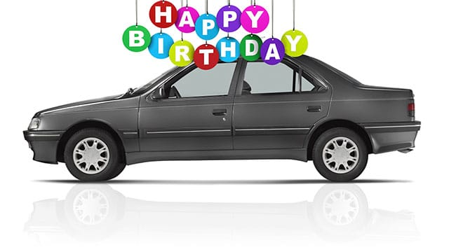 Happy Birthday, Peugeot 405
