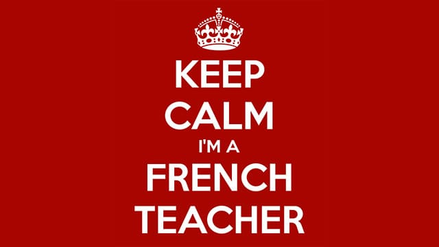 Top Quality French Teachers